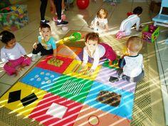 tapete sensorial educação infantil - Pesquisa Google