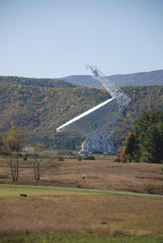 The Greenbank National Radio Astronomy Observatory in WV.