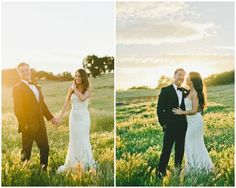 All in a Golden Afternoon Real Wedding in California