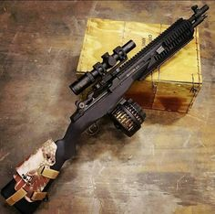 M14 With High Capacity MagazineLoading that magazine is a pain! Get your Magazine speedloader today! http://www.amazon.com/shops/raeind