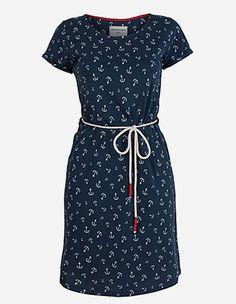 Armedangels - Sofia Ahoi Dress washed blue