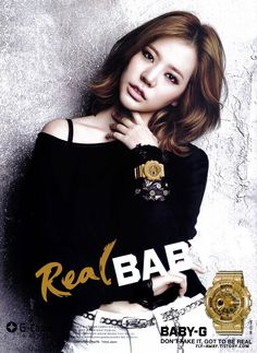 Sunny Lee Soonkyu of Girls' Generation #SNSD for Real Baby-G 2013