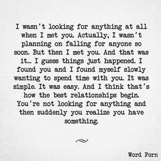 Love & Soulmate Quotes :that's how it happened…pretty much word for word. I'm so happy it did. I love you! Love Quotes For Him, Quotes To Live By, I Love You So Much Quotes, You Love Me, Quotes For My Husband, Future Boyfriend Quotes, Unexpected Love Quotes, Special Love Quotes, I Love You Words