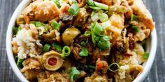 Sweet and Spicy Stuffing Recipe #thanksgiving