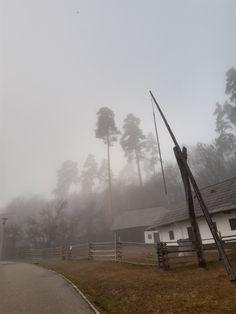 Romania, Utility Pole, Museum, Winter, Winter Time, Museums