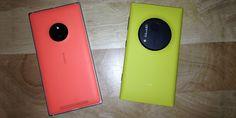 Nokia Lumia 830 vs Nokia Lumia 1020