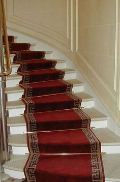 Stair Runner Carpet Of Beautiful Staircases And Cozier Feel - Stair runners give the unique look of your staircase and comfortable feeling for your feet Stair Rug Runner, Stair Rugs, Stair Runners, Rug Runners, Stairway Carpet, Carpet Stairs, Marble Stairs, Wooden Stairs, Best Carpet