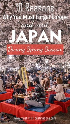 10 Reasons Why You Must Forget Europe and Visit Japan During Spring Season – Mus… – Best Europe Destinations Japan Travel Tips, Asia Travel, Solo Travel, Romantic Vacations, Romantic Travel, Oh The Places You'll Go, Places To Travel, Travel Things, Travel Stuff