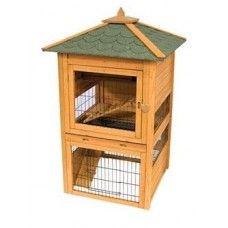 Premium Bunny Cottage - cutest rabbit hutch ever! #rabbithutch