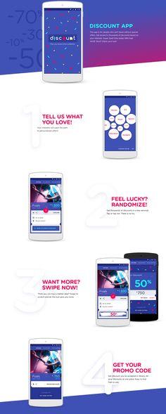 Discount App on Behance