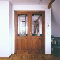 Restaurierte und wieder eingebaute historische Zimmertür von Florian Langenbeck Historische Türen