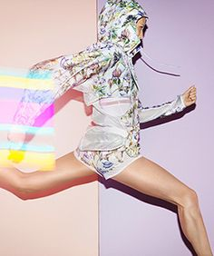 Stella McCartney & Adidas Inspire Us To At Least LOOK Athletic #refinery29  http://www.refinery29.com/stella-mccartney-adidas