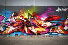 Graffiti often conjures negative images related to property damage. Moss graffiti, however, tells a much different story. Graffiti Wall Art, Best Graffiti, Graffiti Wallpaper, Street Art Graffiti, Graffiti Artists, Wild Style, Art Du Monde, Graffiti Pictures, Urbane Kunst