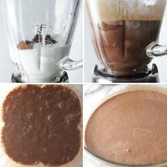 Nutella + Coconut Milk = Almond Joy Ice Cream