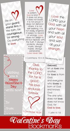 Valentine's Day Bookmarks from Mom and the Blonds day party church - Valentines Day Valentine Verses, Valentines Day Party, Valentines Day Decorations, Valentine Day Crafts, Valentine Ideas, Valentines Fundraiser Ideas, Printable Valentine Bookmarks, Walmart Valentines, Valentines Games