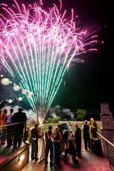 DFW Events wedding fireworks