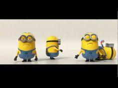 Minions singing Barbara Ann - Despicable Me. Someone sent this to me today and I lurv it. Minions Love, My Minion, Minions 2014, Minion Art, Minions Minions, I Love To Laugh, Make Me Smile, Minion Banane, Minions Banana Song