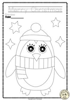 """Help your child develop their pre-writing and fine motor skills with «Christmas Trace and Color Pages"""" This .pdf file includes 14 Christmas themed Tracing and Coloring Worksheets. This is a perfect activity for your young artists. Christmas Worksheets Kindergarten, Preschool Christmas, Worksheets For Kids, Christmas Crafts For Kids, Christmas Activities, Christmas Colors, Christmas Themes, Coloring Worksheets, Reindeer Christmas"""