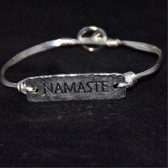 Namaste bangle  www.elizabethsloandesins.com