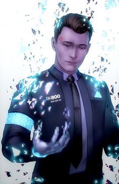Detroit become human Connor By: z-nth (sincerely)
