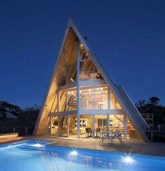 30 Amazing Tiny A Frame Houses Http Www Designrulz