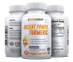 Ancient Turmeric Containing Curcumin - Powerful Anti Inflammatory - This Blend Promotes Brain Health  #WeightLossNutrition