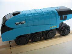 Mallard Train, Wooden Train, Train Engines, Thomas The Tank, Brio, Lipsticks, Engineering, Track, Models