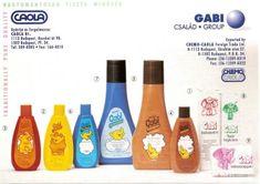 Gabi cosmetics for children - HUngarian retro