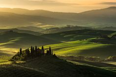 Sunrise in Tuscany by Mattia Dattaro on 500px