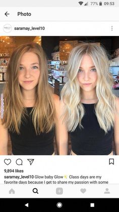 Medium Blonde Hairstyle - 40 Beautiful Blonde Balayage Looks - The Trending Hairstyle Blonde Hair Looks, Brown Blonde Hair, Summer Blonde Hair, Brown To Blonde Hair Before And After, Cool Toned Blonde Hair, Neutral Blonde Hair, Baby Blonde Hair, Light Blonde Balayage, Light Blonde Highlights