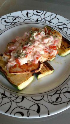 Hähnchen mit Feta-Tomaten-Sauce