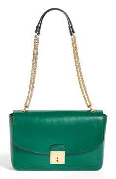MARC JACOBS '1984 - Polly' Leather Shoulder Bag available at #Nordstrom