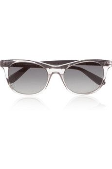 Marc by Marc Jacobs square-frame transparent acetate sunglasses | THE OUTNET #PerfectGifts #InsideTheBox