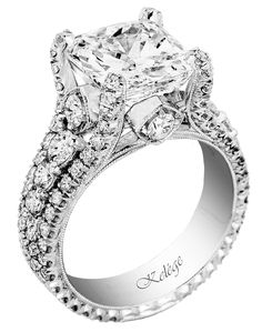 Jack Kelege Platinum Diamond Engagement Ring  Now available at Diamond Dream Fine Jewelers https://www.facebook.com/pages/Diamond-Dream-Fine-Jewelers/170823023636 https://www.diamonddreamjewelers.com info@diamonddreamjewelers.com 908.766.4700