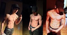 Rome from C Clown looking ripped. I wanna touch! Black Korean, Korean Men, Korean Actors, Christian Yu, C Clown, Ulzzang, My Crush, Asian Boys, Korean Singer