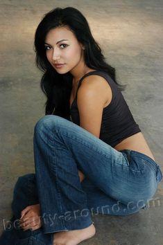 Beautiful Puerto Rican women, Naya Rivera American actress and singer photo