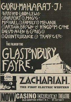 The Glastonbury Festival 1971