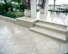 Pearl marble deck.