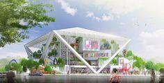 Tecnoneo: Shigeru Ban gana el concurso para construir el museo de bellas artes de Tainan