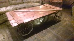 Barn Door Coffee Table Upcycled Repurposed Salvaged Reclaimed Shabby Chic | eBay