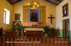 Mission Nuestra Señora de la Soledad.  Our Lady of Sorrows. Soledad, California.