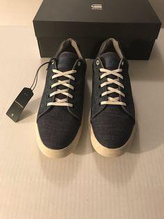Mens Shoes Size 11 G Star Denim Chambray  GStar  FashionSneakers Gstar 4f03ff3cf1