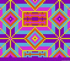 Would also look good done in cross stitch,quilt,or filet crochet. Mochila Crochet, Bag Crochet, Crochet Gratis, Crochet Purses, Crochet Chart, Crochet Stitches, Tapestry Crochet Patterns, Bead Loom Patterns, Beading Patterns