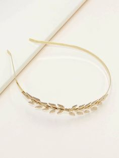 Metal Leaf Decor Hair Hoop | SHEIN South Africa Fashion Accessories, Hair Accessories, Hair Hoops, Unique Fashion, Headbands, Shopping Bag, Leaves, Metal Hair, Hair Bands