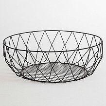 wire basket.