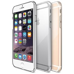 "iPhone 6 Case, Maxboost® [Liquid Skin] iPhone 6 (4.7-inch) Case [0.4mm Ultra Clear] Soft Flexible Extremely Thin Gel TPU Transparent Skin Scratch-Proof Case for iPhone 6 (4.7 inch) (2014) ""Feels Like Nothing There"" - Ultra Clear, http://www.amazon.com/dp/B00I8RVKZ6/ref=cm_sw_r_pi_awdm_8LX7wb0JHEX06"