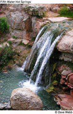 Fifth Water Waterfalls and Hot Springs, East of Spanish Fork, 4.6 miles- great for kids (but longer)