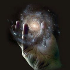 The hand of the Creator