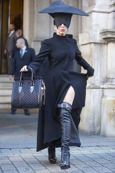 20 Of Lady Gaga's Most Horrifying Fashion Choices, From Meat Dress To Kermit Coat
