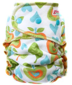 Two's A Pair -- goodmama diaper
